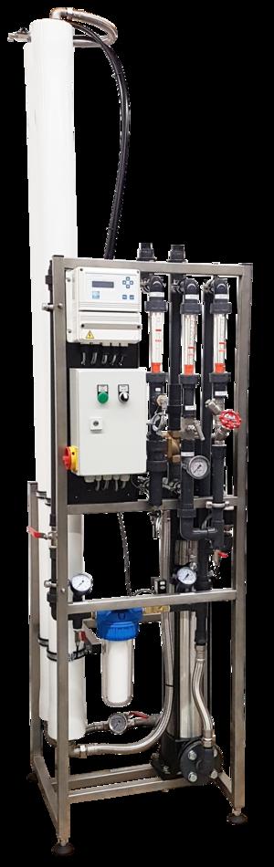 Umkehrosmoseanlage, VA-Rahmen, UO-Pumpe GG